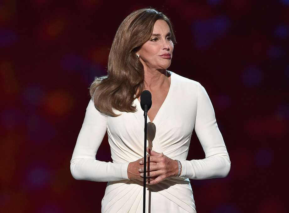 ESPY award honoree Caitlyn Jenner urges respect for transgender people. Photo: Kevin Winter, Getty Images