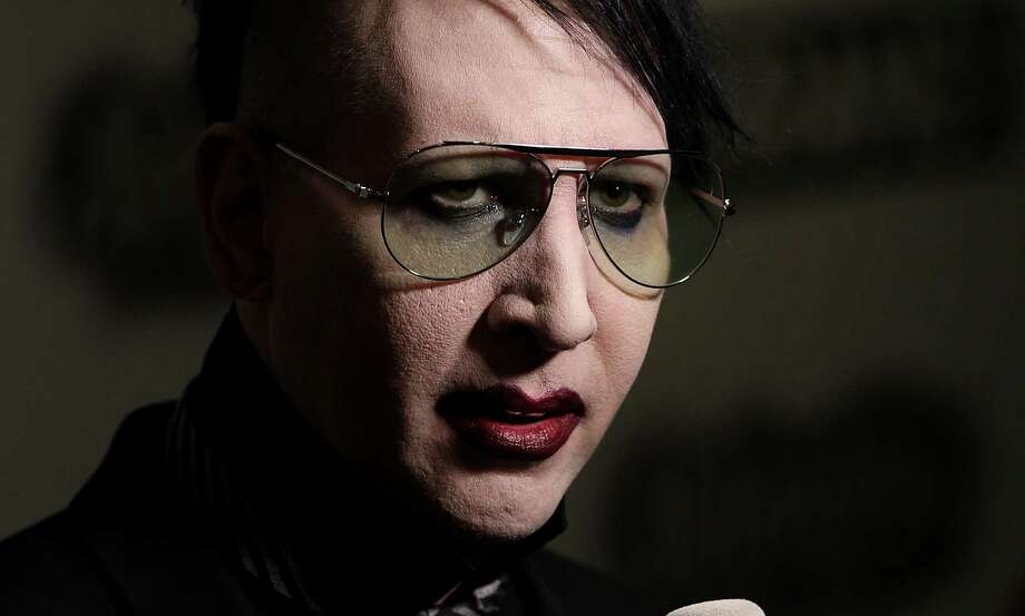 Marilyn Manson's 1999 show in S.A. was closely monitored. Photo: Getty Images / 2015 Getty Images