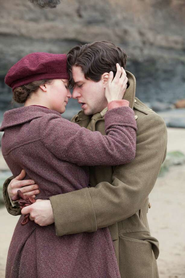 """Alicia Vikander as Vera Brittain and Kit Harington as Roland Leighton in """"Testament of Youth""""  IMG_0991.CR2 Photo: Laurie Sparham / Sony Pictures Classics"""