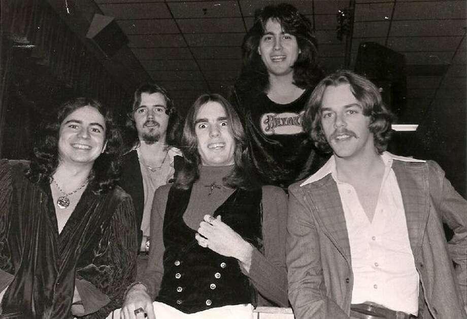 Heyoka circa 1978: Garcia,  Bonnet, Grothues,  Ramirez and  Hood Photo: Courtesy Gerardo Ramirez