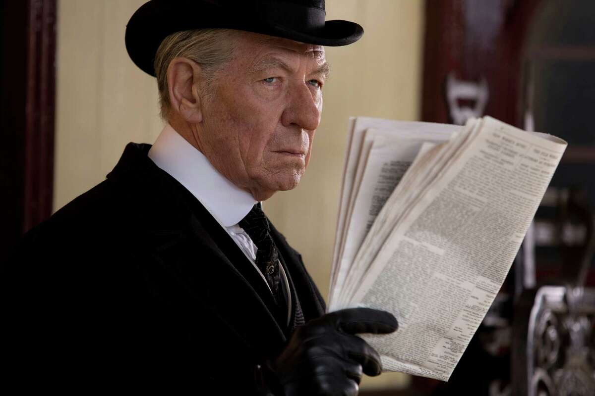 "Sir Ian McKellen stars in ""Mr. Holmes."""