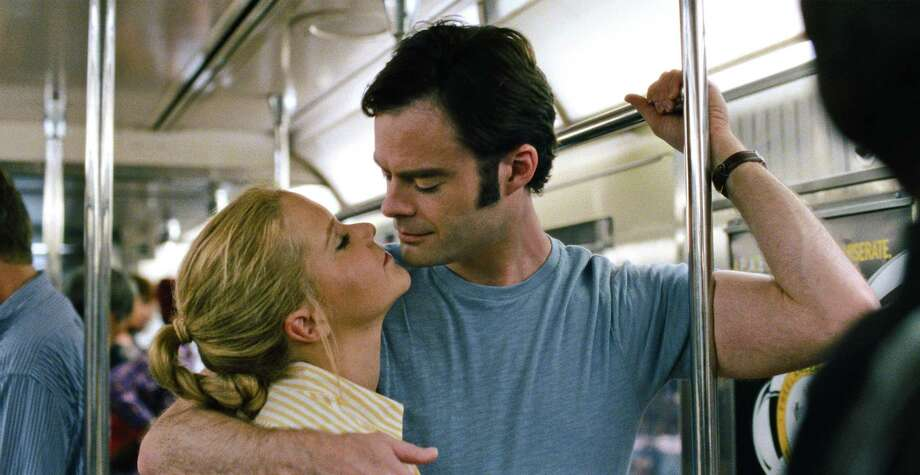"Amy Schumer and Bill Hader star in ""Trainwreck."" Photo: Universal Pictures"