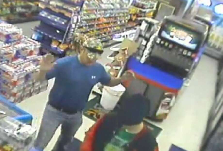 An off-duty firefighter in Midlothian stopped a robbery from occurring by taking matters into his own hands. Photo: White, Tyler L, YouTube
