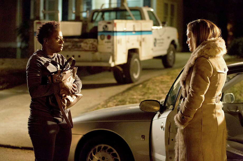 "Viola Davis, left, stars as Lila and Jennifer Lopez as Eve in ""Lila and Eve."" Photo: HANDOUT, STR / THE WASHINGTON POST"