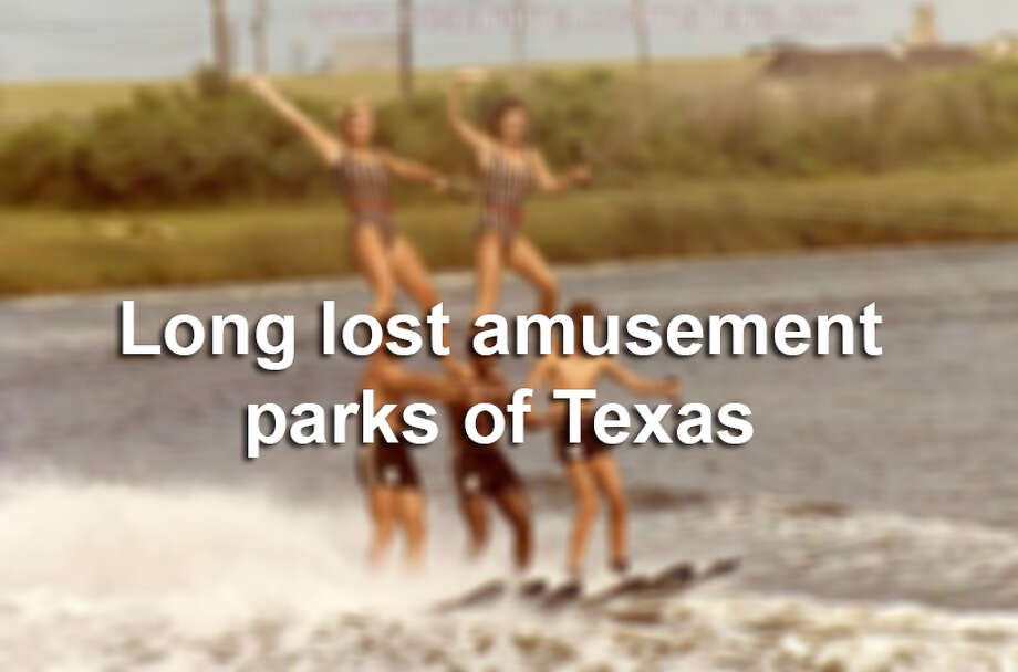 Click through the slideshow to see abandoned amusement parks in Texas.