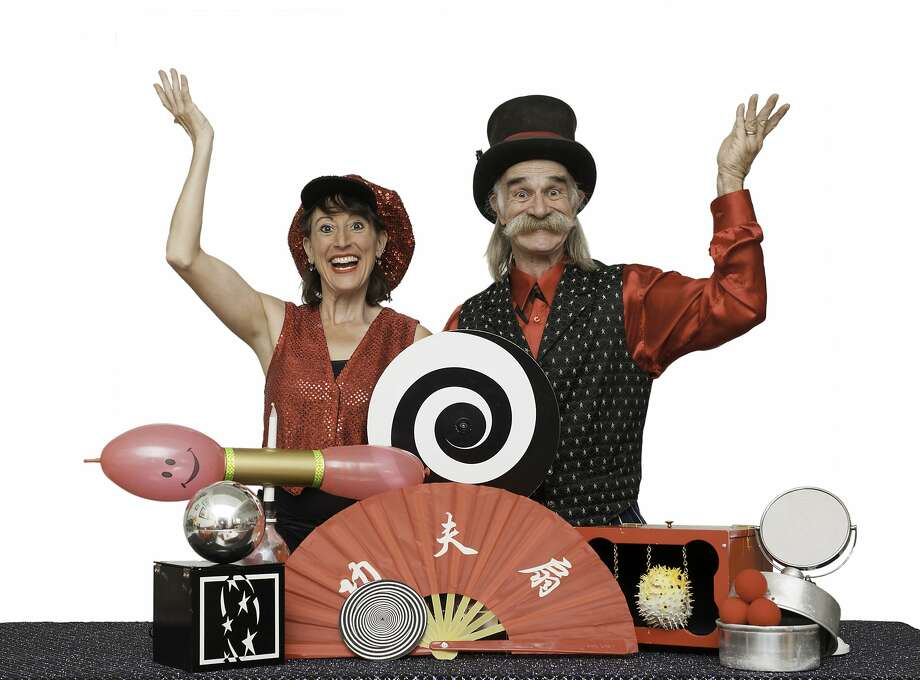 """Feats of magic that make learning about science fun will be presented at the performance of """"Mr. Fish and Lisa Lou"""" at the Palace Theatre in Stamford on July 28. Photo: Contributed Photo"""