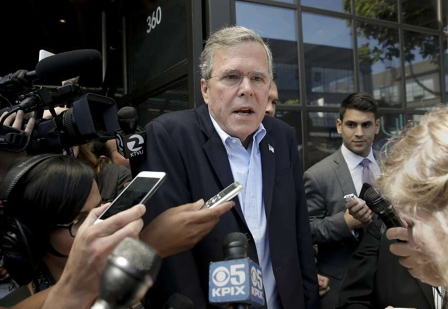 "Group A: Jeb Bush would have to be one of the favorites in the ""group of death."" Photo: Michael Macor, The Chronicle"