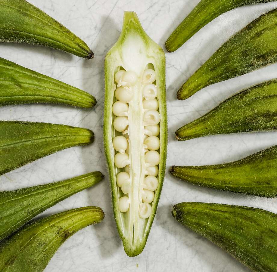Okra is seen on Thursday, July 16, 2015 in San Francisco, Calif. Photo: Russell Yip, The Chronicle