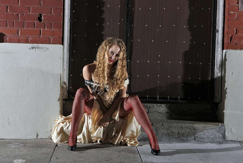 """Emma McNairy is the embodiment of sexual enchantment, of fundamental and amoral urges in West Edge Opera's """"Lulu."""" Photo: Cory Weaver"""