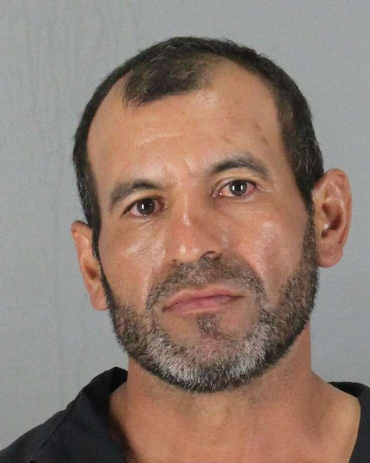 Juan Perez, 41, of East Palo Alto, pleaded not guilty to five felonies Wednesday, July 16 after he allegedly beat an 89-year-old priest with his own cane. Photo: Courtesy, San Mateo County Sheriff