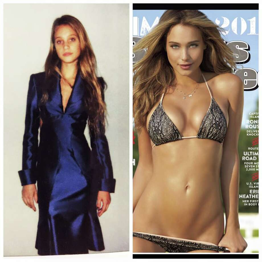 Model Hannah Davis once modeled for Houston designer Chloe Dao (Instagram)Keep clicking to see what Sports Illustrated models really look like. Photo: Instagram
