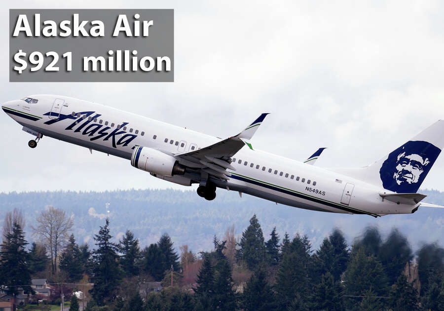 Alaska Airlines was founded in Anchorage, Alaska and is now based in Seattle Washington. Photo: Elaine Thompson, Houston Chronicle  / AP