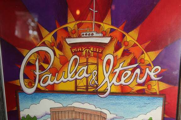 Steve Rounds and Paula Miller's Grateful Dead-themed wedding
