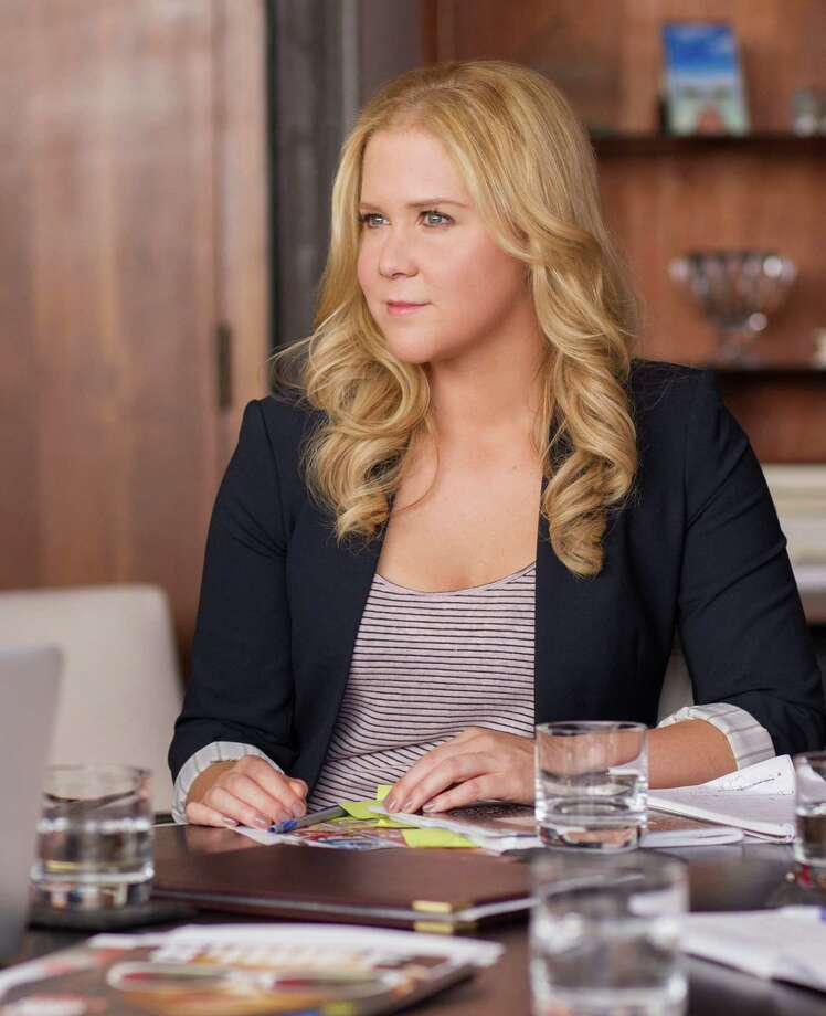 """This photo provided by Universal Pictures shows, Amy Schumer as Amy, in """"Trainwreck,"""" the new comedy from director/producer Judd Apatow. The movie releases in the U.S. on July 17, 2015.  (Mary Cybulski/Universal Pictures via AP) ORG XMIT: CAET325 Photo: Mary Cybulski / Universal Pictures"""