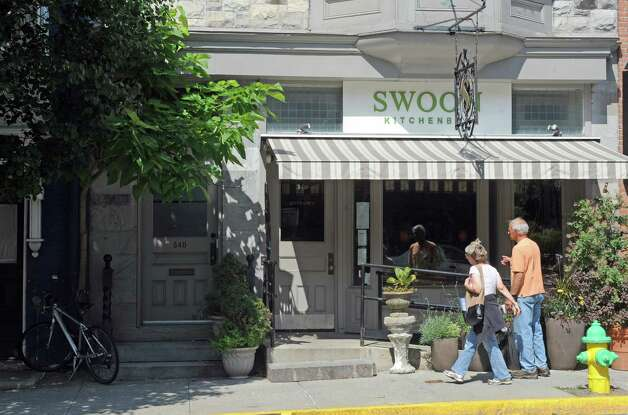 Swoon Kitchenbar at 340 Warren Street on Friday July 10, 2015 in Hudson, N.Y. (Michael P. Farrell/Times Union) Photo: Michael P. Farrell / 00032545A