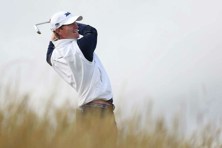 ST ANDREWS, SCOTLAND - JULY 16:  Amateur Jordan Niebrugge of the United States tees off on the 6th hole during the first round of the 144th Open Championship at The Old Course on July 16, 2015 in St Andrews, Scotland.  (Photo by Streeter Lecka/Getty Images) ORG XMIT: 541146101 Photo: Streeter Lecka / 2015 Getty Images