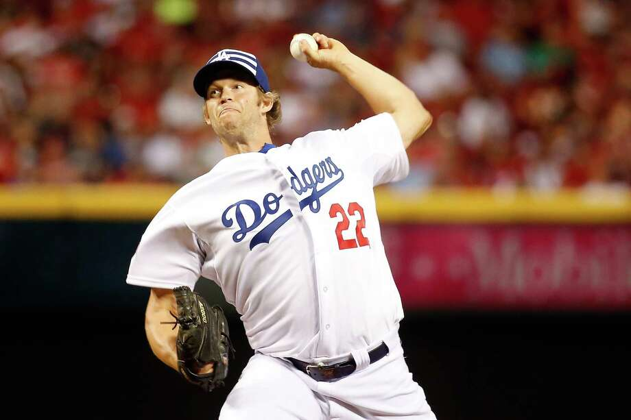 CINCINNATI, OH - JULY 14:  National League All-Star Clayton Kershaw #22 of the Los Angeles Dodgers throws a pitch in the fifth inning against the American League during the 86th MLB All-Star Game at the Great American Ball Park on July 14, 2015 in Cincinnati, Ohio.  (Photo by Rob Carr/Getty Images) ORG XMIT: 554358343 Photo: Rob Carr / 2015 Getty Images