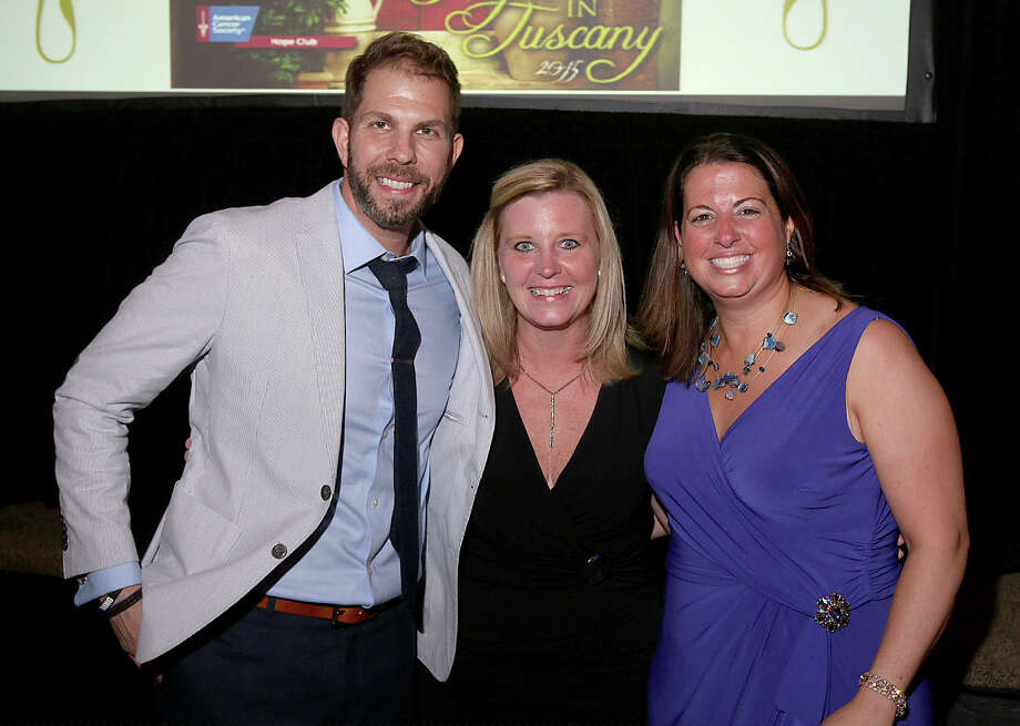 """Were you Seen at """"A Night in Tuscany,"""" honoring Brian Cody and Chrissy Cavotta of Fly 92.3's Morning Rush? The benefit for the American Cancer Society HopeClub was held at the Canfield Casino in Saratoga Springs on Thursday, July 16, 2015. Photo: (C) JOE PUTROCK 2014, Joe Putrock/Special To The Times Union"""