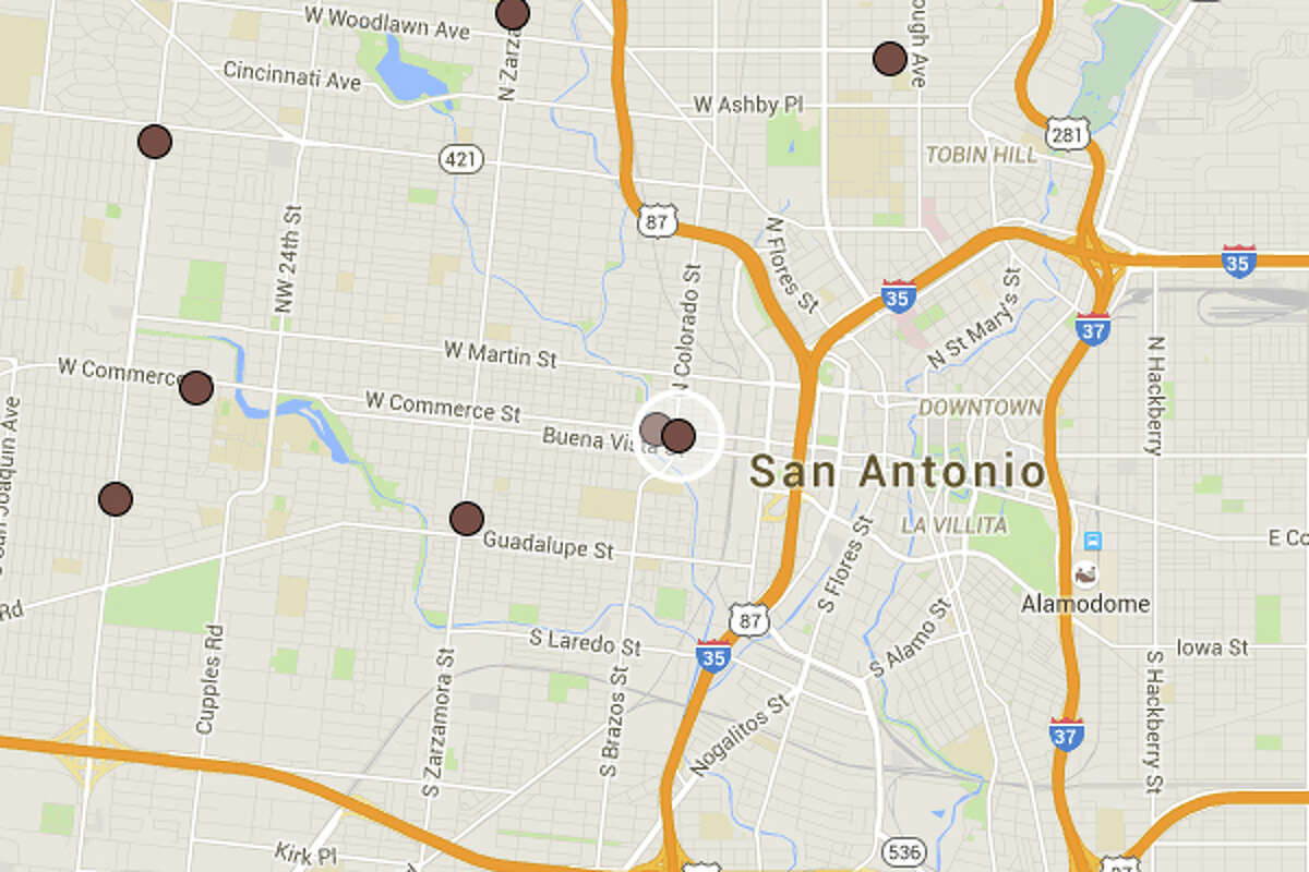 CAFE DON JUAN: 1422 W COMMERCE ST San Antonio , TX 78207 Date: 07/15/2015 Demerits: 14