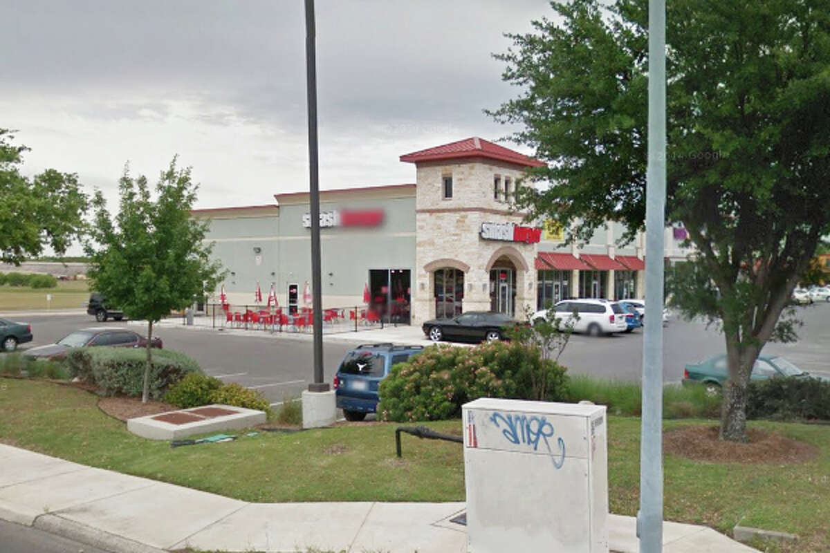 Smashburger: 8802 Potranco Road #111, San Antonio, Texas 78245Date: 08/18/2016 Score: 71Highlights: Food not protected from cross contamination (bread not properly stored in holding units), food service/food production personnel did not wash hands prior to donning gloves, plumbing repairs needed, no certified food manager (CFM) present at time of inspection, inspector