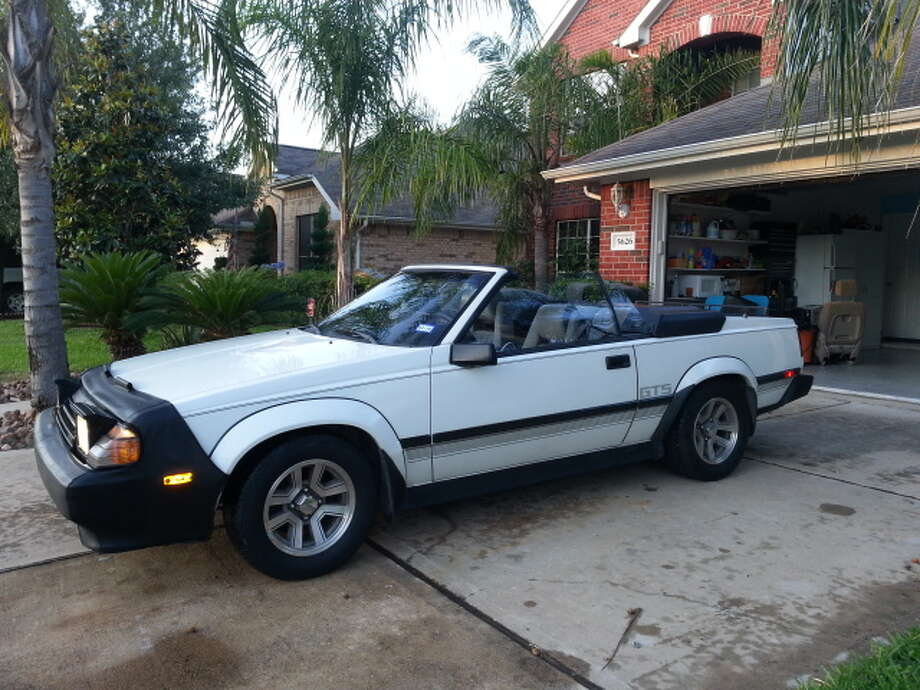 1985 Toyota Celica GTS Convertible is Houston residents ride