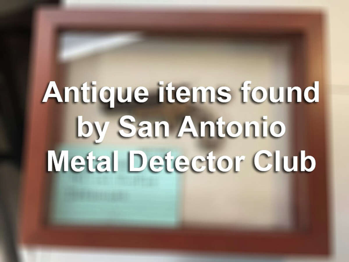 Take a look at some of the cool antique items found by the San Antonio Metal Detector Club.