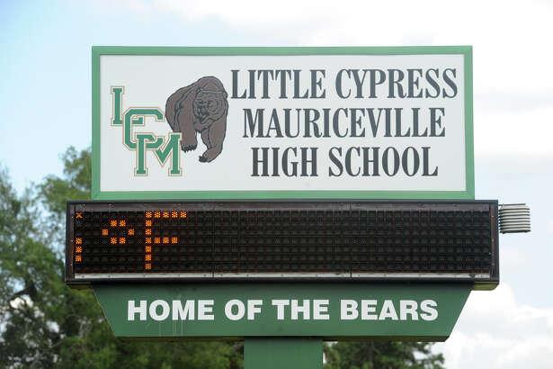 Little Cypress-Mauriceville High School   Photo taken Thursday, July 16, 2015  Guiseppe Barranco/The Enterprise