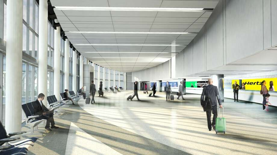 The Consolidated Rental Car Facility is expected to accommodate 13 car rental companies. Photo: Illustration Of San Antonio Aviation Department
