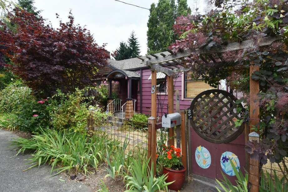 The first home, 8 W. Fulton St., is listed for $528,000. The two bedroom, 1.75 bathroom home features a large basement with a shop.