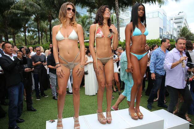 Guests attend  SWIMMIAMI Kick-off Party At W South Beach Presented By Planet Fashion TV at W South Beach Hotel & Residences on July 16, 2015 in Miami Beach, Florida. Photo: Aaron Davidson, Getty Images / 2015 Getty Images