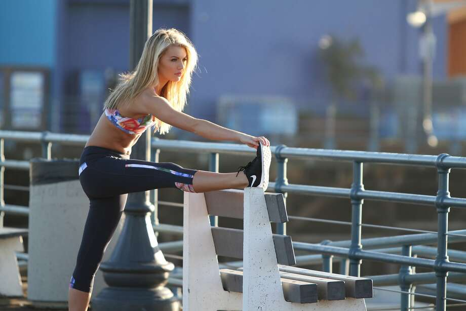 A look from San Francisco's online active-wear boutique the SweatBar. Photo: The SweatBar
