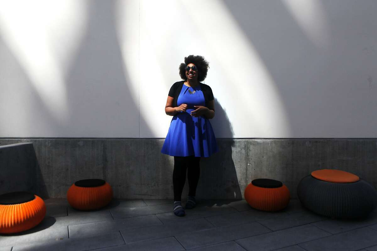 Angelica Coleman, who formerly worked at Dropbox, says she was made to feel like an outsider by some Dropbox employees and was kept from promotion because she didn't fit her bosses' vision of leadership. Currently employed at Zendesk she feels they are giving her the proper treatment she deserves.