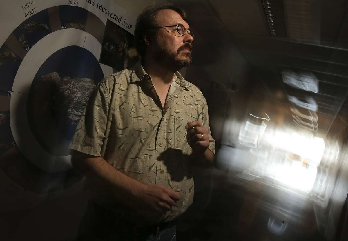 Eric Korpela, the director of SETI (the Search for Extraterrestrial Intelligence) at Home at the Berkeley SETI research center at UC Berkeley, is seen on Fri. July 17, 2015, in Berkley, Calif.