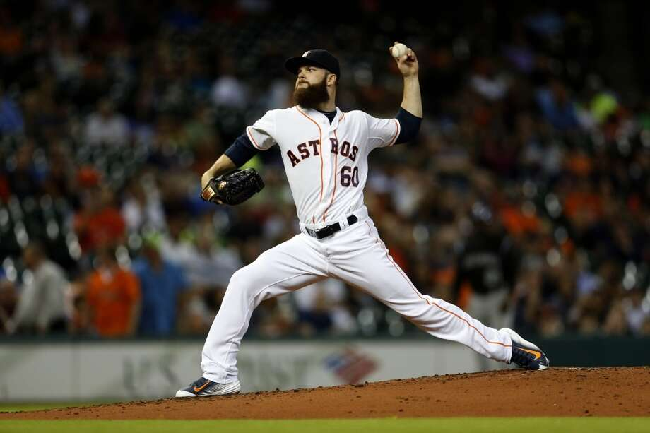 Astros pitcher Dallas Keuchel Photo: Karen Warren, Houston Chronicle