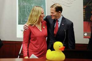 Mother of slain Sandy Hook boy, Blumenthal mark social and emotional learning week - Photo