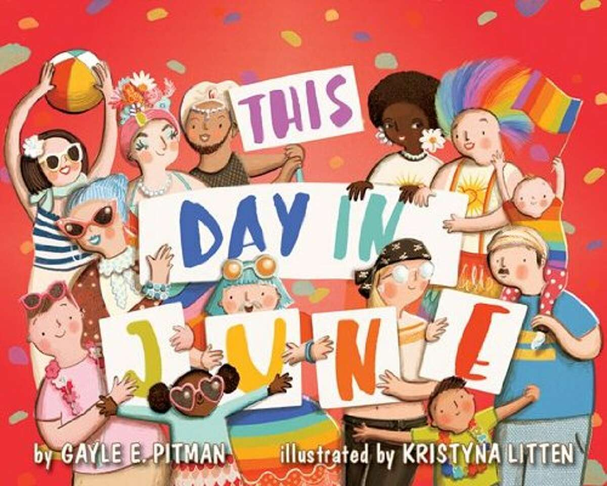 This Day in June by Gayle E. Pitman, illustrated by Kristyna Litten Reason: challenged and burned for including LGBTQIA+ content