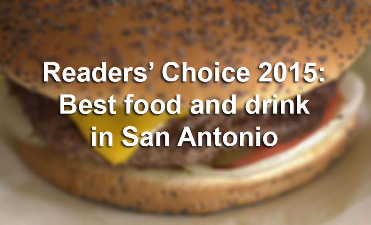 Click through the slideshow to see which San Antonio restaurants and bars were voted best by San Antonio Express-News readers.