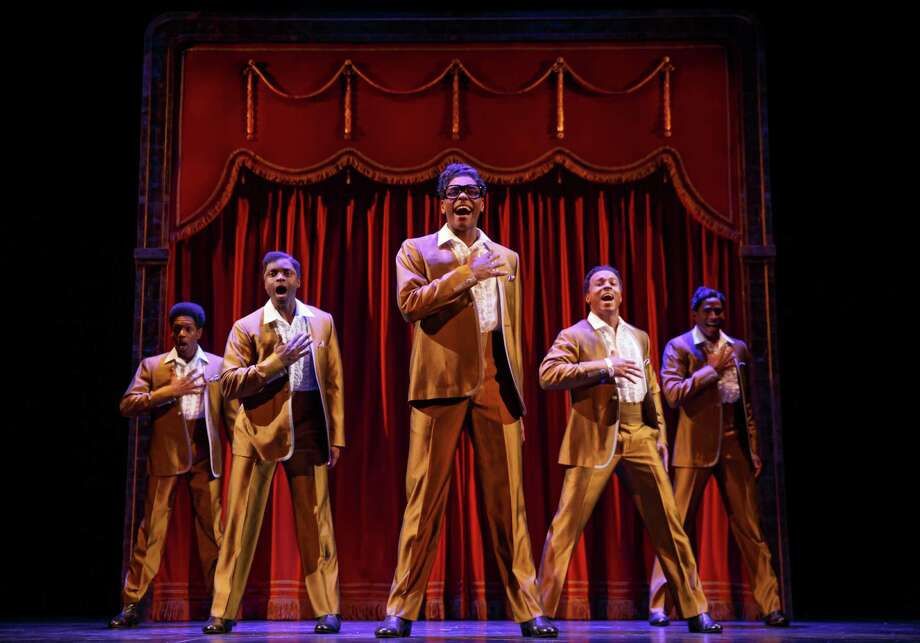 "The Temptations are portrayed in the national tour of  ""Motown The Musical."" Photo: Joan Marcus / ONLINE_YES"