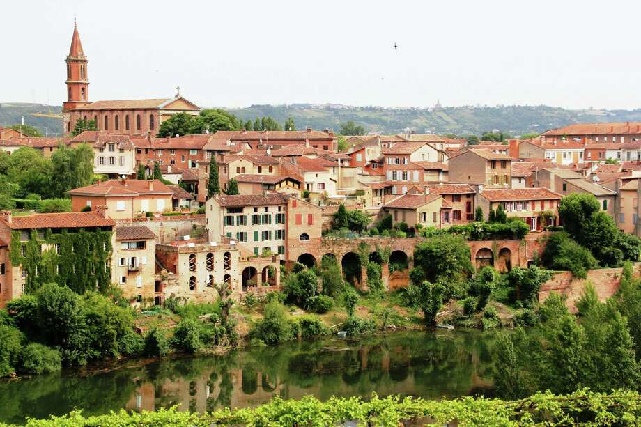 A view of Albi and all its buildings made of the red brick that is characteristic of the Midi-Pyrenees region in southwestern France. Photo: Leah Larkin / Leah Larkin