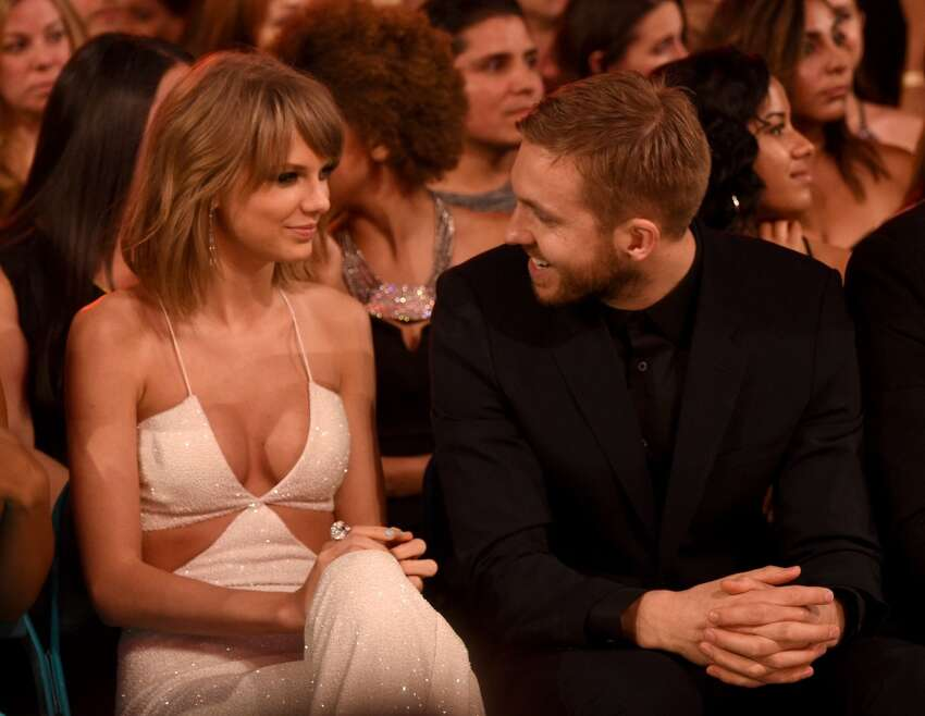 Recording artists Taylor Swift (L) and Calvin Harris attend the 2015 Billboard Music Awards at MGM Grand Garden Arena on May 17, 2015 in Las Vegas, Nevada. (Photo by Larry Busacca/BMA2015/Getty Images for dcp)