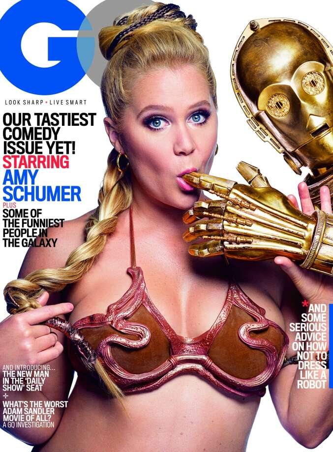 Amy Schumer on the cover of GQ. Photo: Mark Seliger Exclusively For GQ