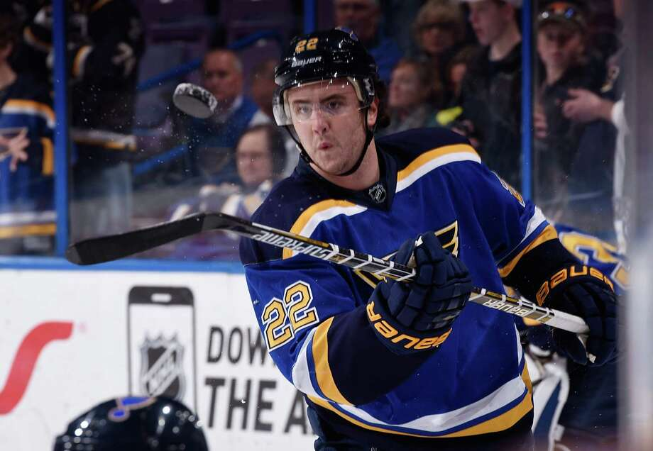 Former Brunswick standout Kevin Shattenkirk of the Blues has helped make St. Louis one of the best defensive teams in the NHL. Photo: Scott Rovak / NHLI Via Getty Images / 2015 NHLI