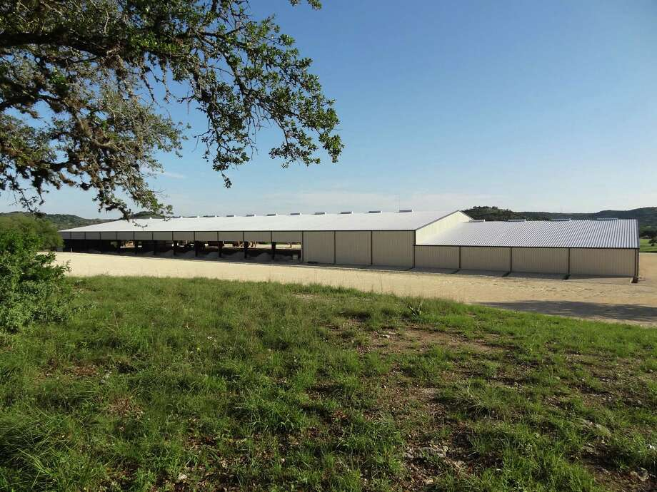 The facility built by the Kendall County 4-H Horse Club and the Kendall County Junior Livestock Show on county land midway between Boerne and Comfort is mostly done. Photo: Courtesy Photo /Andra Wisian