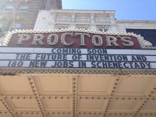 Proctors in Schenectady announces the unveiling of the CEO of Quirky's business plan for Schenectady on Thursday. (John Carl D'Annibale /Times Union)