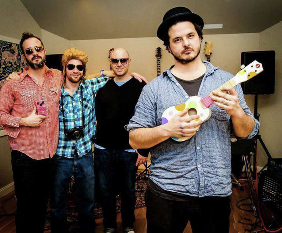 Paul Maddison, Danny Golden, Kenny Shaw and Pete Francis make up the core of the Dragon Crest Collective, which recently released its first album. Photo: Contributed Photo / Stamford Advocate Contributed