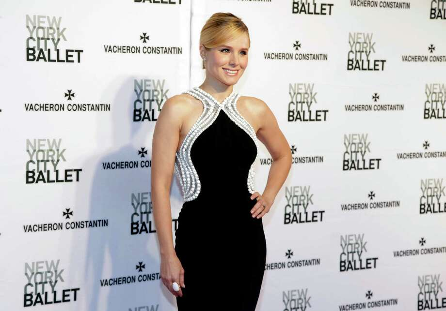 Actress Kristen Bell attends the New York City Ballet 2014 Spring Gala on Thursday, May 8, 2014, in New York. (Photo by Andy Kropa/Invision/AP) ORG XMIT: NYAK103 Photo: Andy Kropa / Invision