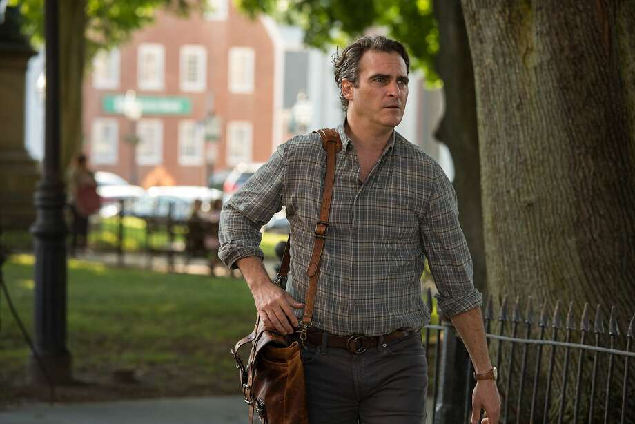 """In this image released by Sony Pictures Classics, Joaquin Phoenix appears in a scene from """"Irrational Man."""" (Sabrina Lantos/Sony Pictures Classics via AP) Photo: Sabrina Lantos, Associated Press"""