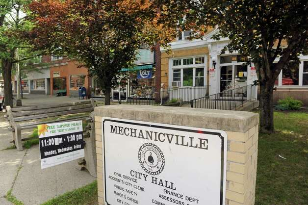 Mechanicville City Hall at 36 Main Street on Friday July 17, 2015 in Mechanicville, N.Y. (Michael P. Farrell/Times Union) Photo: Michael P. Farrell / 00032666A
