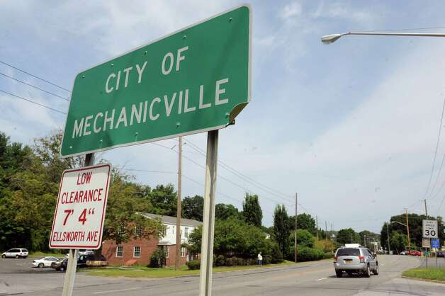 View of Central Avenue on Friday July 17, 2015 in Mechanicville, N.Y. (Michael P. Farrell/Times Union) Photo: Michael P. Farrell / 00032666A