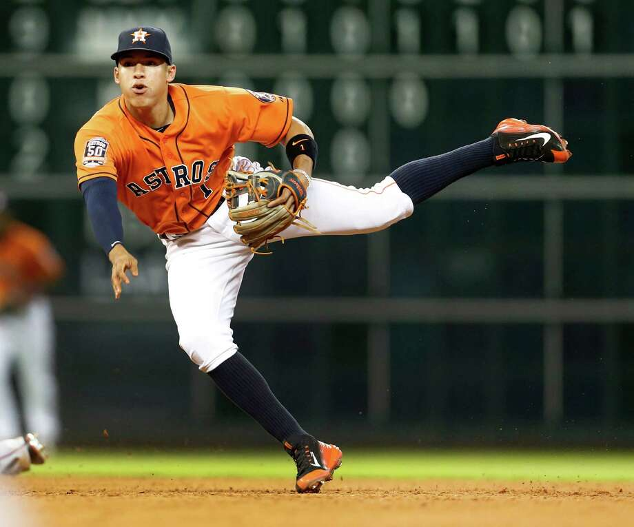 Rookie shortstop Carlos Correa is among the players who've helped drawn the fans back to Minute Maid Park this season. Photo: Karen Warren, Houston Chronicle / © 2015 Houston Chronicle